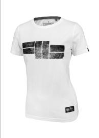 PitBull West Coast Dámské triko Classic Logo - bílé