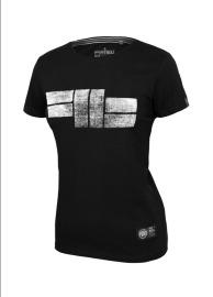 PitBull West Coast Dámské triko Classic Logo - černé