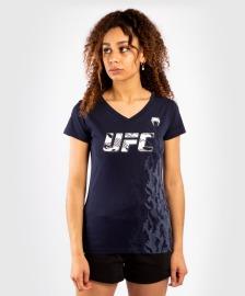 Dámské tričko VENUM UFC Authentic Fight Week - navy blue