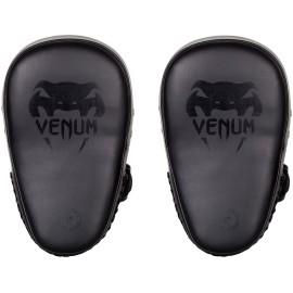 Lapy Venum ELITE SMALL KICK PADS - matně černé