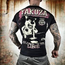 Pánské tričko YAKUZA Along The Line - černé