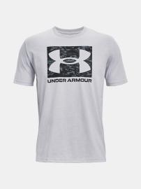Pánské triko Under Armour UA ABC CAMO BOXED LOGO SS - šedé