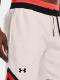 Pánské šortky UNDER ARMOUR RIVAL FLEECE AMP SHORT - bílé