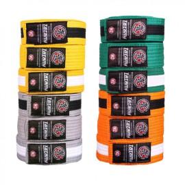 TATAMI Dětské pásky IBJJF - žlutý