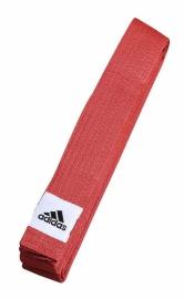 Pásek (judo, Karate) Adidas CLUB - červený