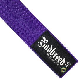 Pásek Badbreed Brazilian Jiu Jitsu 240 cm - fialový