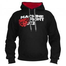 Pánská mikina MACHINE FIGHT - Černá