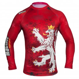 Rashguard MACHINE Czech dl. rukáv