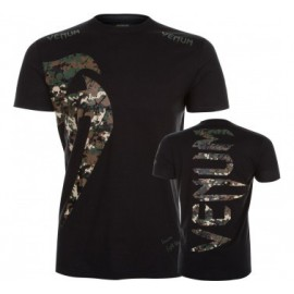 Tričko VENUM Giant - Jungle Camo Black