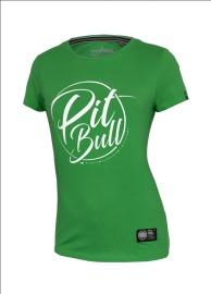 PitBull West Coast Dámské triko PB Inside - zelené