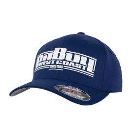 PitBull West Coast Kšiltovka Full cap BOXING - modrá