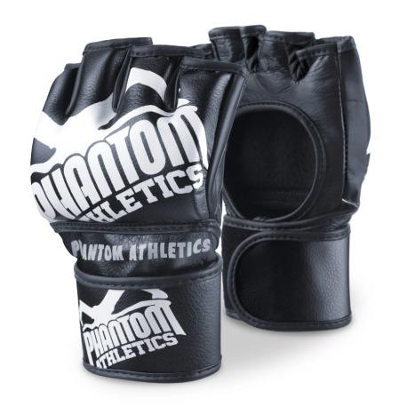 """PHANTOM MMA RUKAVICE """"Blackout """" - černo / bílé"""