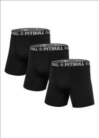 Boxerské Trenýrky Pitbull West Coast - černé