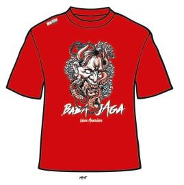 Funkční triko Baba Jaga - červené