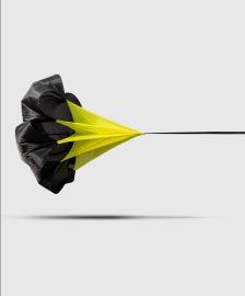 Běžecký padák Venum Challenger - Black/Yellow