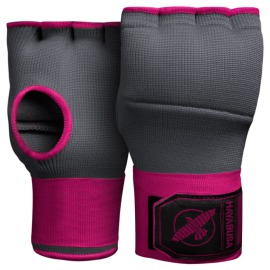 Hayabusa rukavice Quick Gel - šedo/růžové