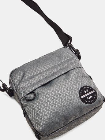 UNDER ARMOUR Pánská taška CROSSBODY Loudon - šedá