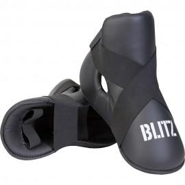 Taekwondo Chránič nártů BLITZ  PU  - černé