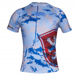 Rashguard Machine Czech - Modrý