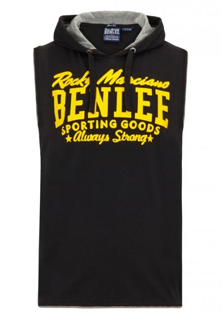 Pánské tričko s kapucí BENLEE Rocky Marciano MEDFORD - černé
