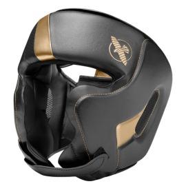 Boxerská přilba HAYABUSA T3 Chinless - černo/zlatá