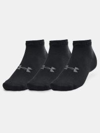 Under Armour Ponožky Essential Low Cut 3Pk - černé