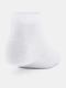 Under Armour Ponožky Essential Low Cut 3Pk - bílé