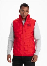 Zimní vesta PitBull West Coast Overton - červená