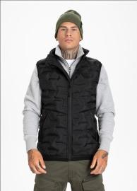 Zimní vesta PitBull West Coast Overton - černá