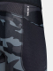 Pánské kompresní legíny Under Armour HG IsoChill Prnt Lgs - černé