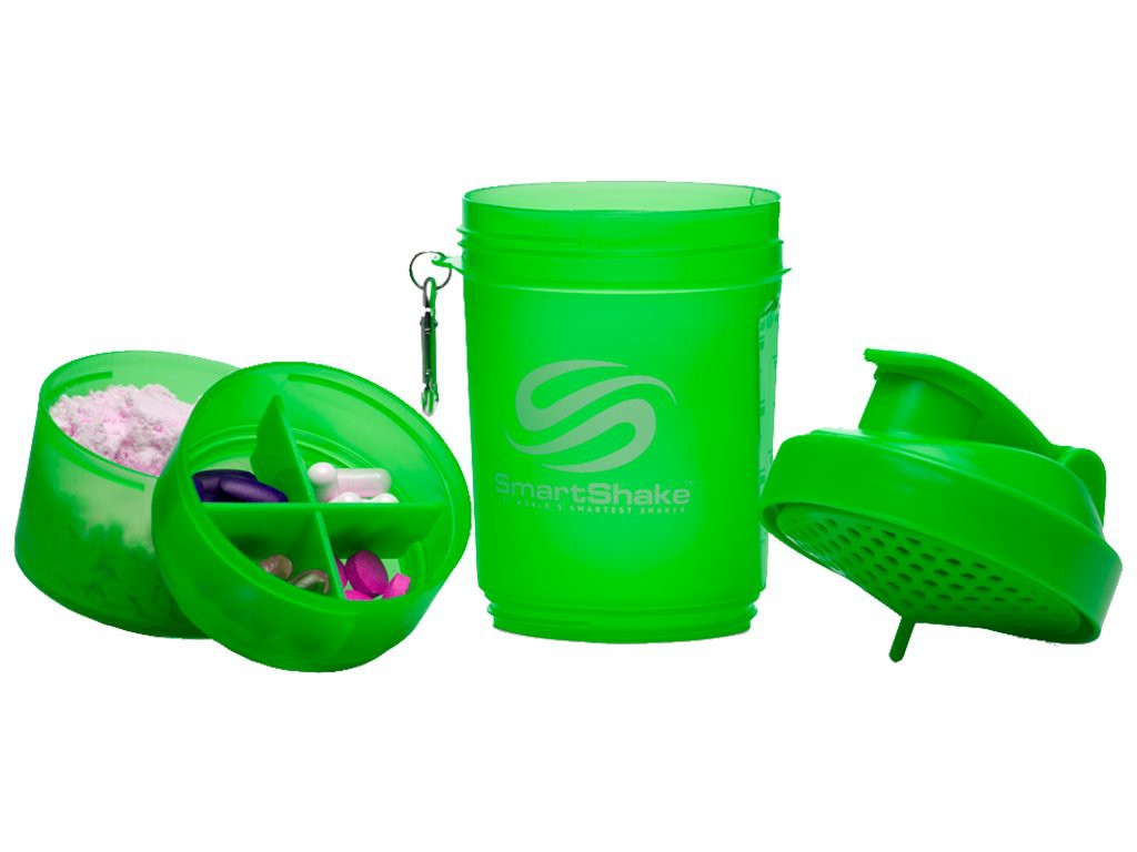 SMART SHAKE SHAKER - NEON SERIES Green 600ML
