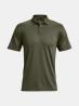 Pánské triko UNDER ARMOUR Tac Performance Polo 2.0 - zelené