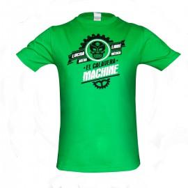 Tričko Machine LUCHA LIBRE - zelené