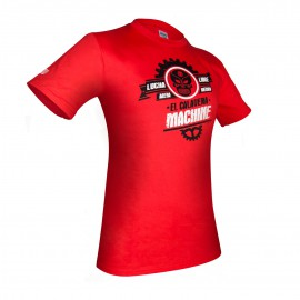 Tričko Machine LUCHA LIBRE - červené