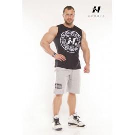 Pánský fitness nátělník Nebbia 946 - černý