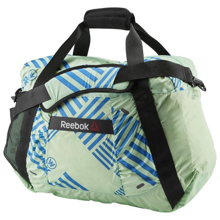 Dámská sportovní taška Reebok OS W 31L GRPH GRIP LASRED N SZ (AJ6700)