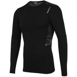 Tréninkové tričko Reebok WorkOut Ready Komprese s dlouhým rukávem M AJ3042