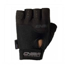 Fitness rukavice CHIBA POWER - černé