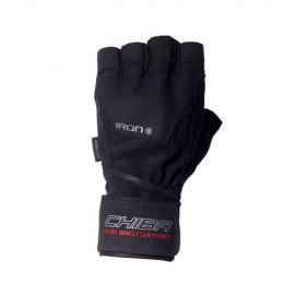 Fitness rukavice CHIBA IRON 2 - černé
