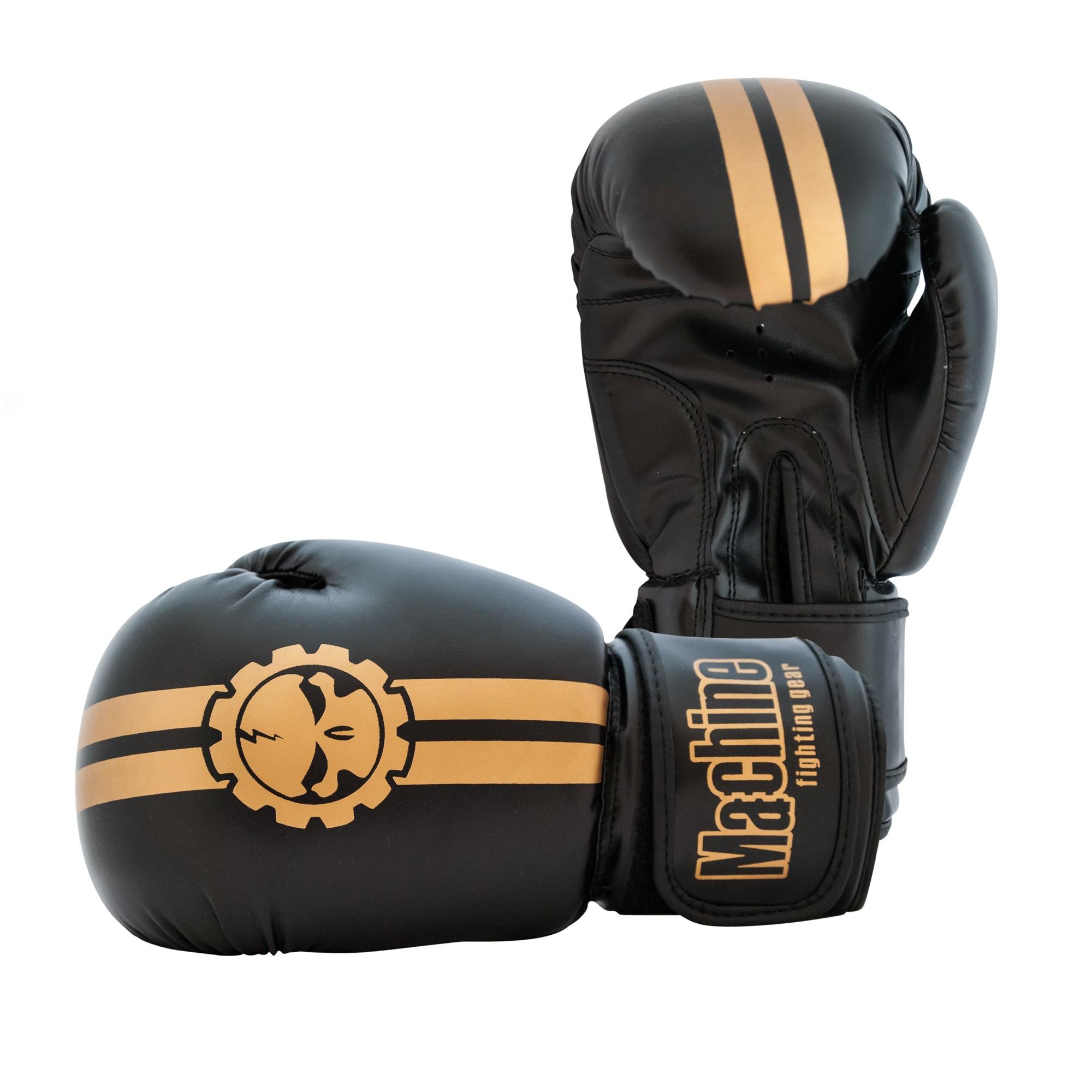 Boxerské rukavice Machine Fast - zlaté