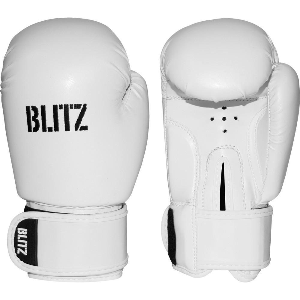 Dětské Boxerské rukavice BLITZ PU - bílé
