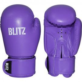 Dětské Boxerské rukavice BLITZ PU  - fialové