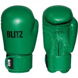 Dětské Boxerské rukavice BLITZ PU  -  zelené