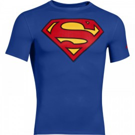 Pánské Kompresní Tričko Under Armour Superman