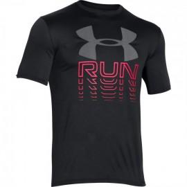 Pánské sportovní tričko Under Armour s logem šedé