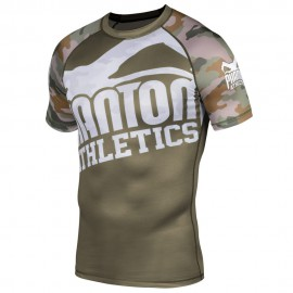 PHANTOM rashguard Warfare - Woodland Camo