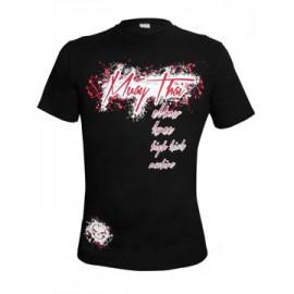 Tričko Machine Muay Thai - Černé