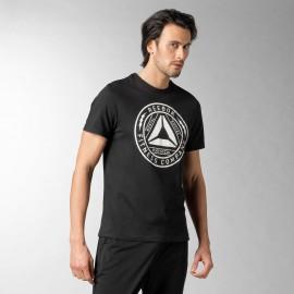 Pánské tričko Reebok Delta Badge - černé