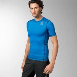 Pánské kompresní tričko Reebok READY - modré