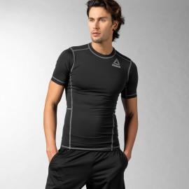 Pánské kompresní tričko Reebok READY - černé